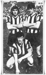 Barakaldo C.F. Benito, Otaolea y Dani.