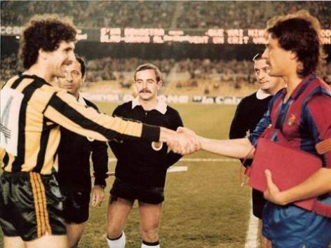 Barakaldo FC Barcelona 1981