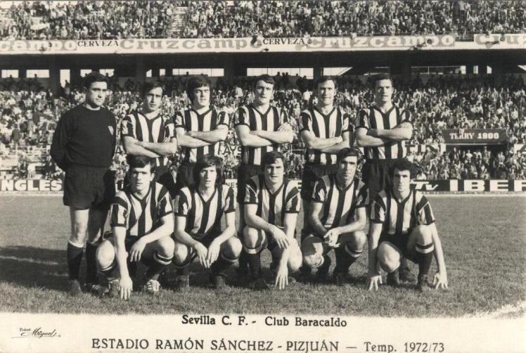 Barakaldo CF Sevilla sanchez pizjuan 1972