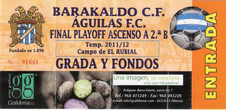 agilas entrada Barakaldo CF ascenso a 2ªB El rubial 2012