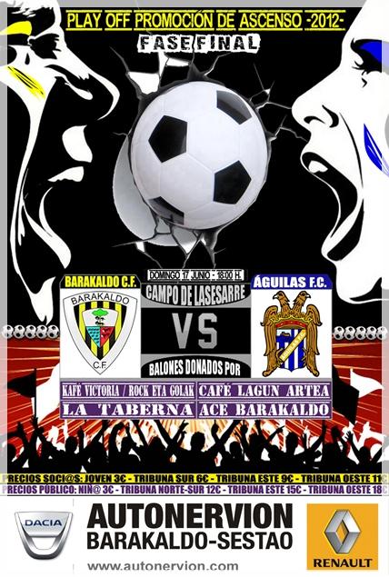 Barakaldo CF - Águilas 2011-12