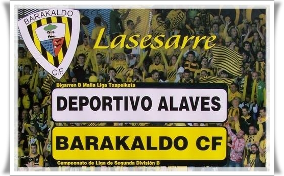 Barakaldo CF - Deportivo Alavés