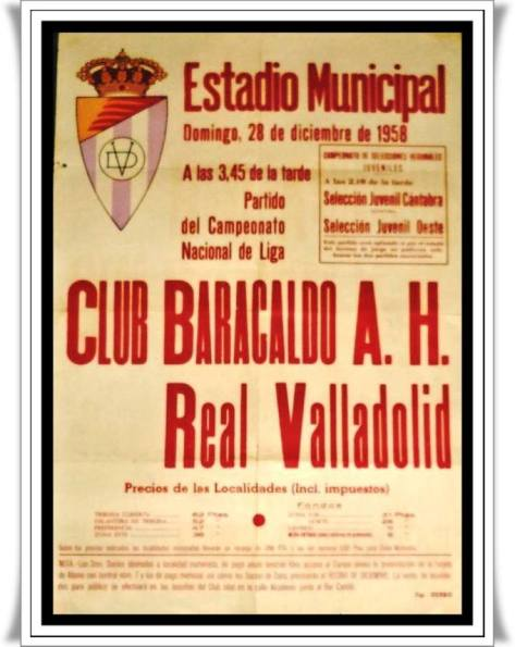 Barakaldo CF Valladolid 58-59