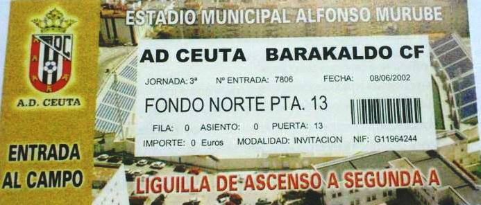 Ceuta Barakaldo CF play-off 2002