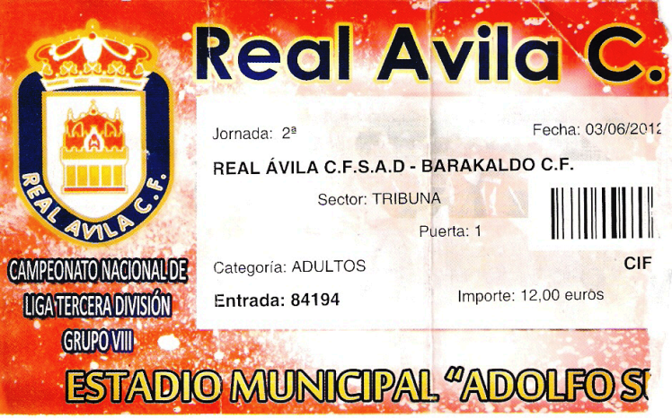 entrada avila Barakaldo CF 2012