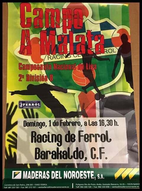 Racing de Ferrol - Barakaldo CF 2008-09