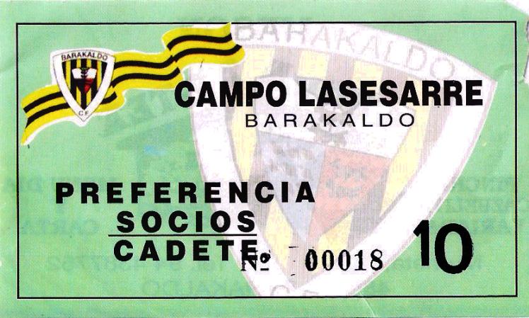 Viejo Lasesarre entrada 1993