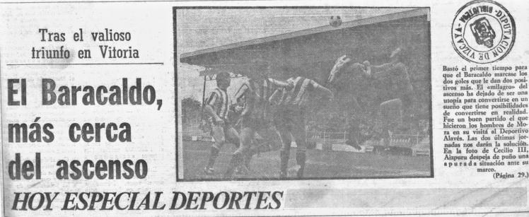 Barakaldo CF alaves 1978