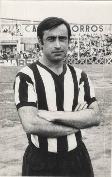CARLOS Santamarina Santamaría (16/02/1940 Bilbao 01/11/2014) Baracaldo C.F. 1972-1975