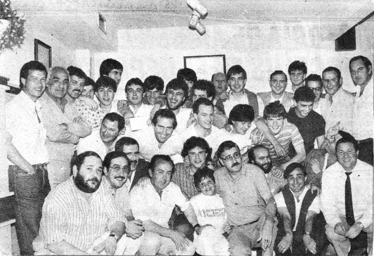 Barakaldo CF 1986 directiva, jugadores y cuerpo técnico