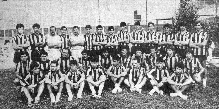 Plantilla Barakaldo CF 1985.86