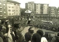 Ascenso 1977 Barakaldo Herriko Plaza