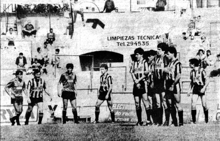 Luis Sitjar Barakaldo C.F. 1986