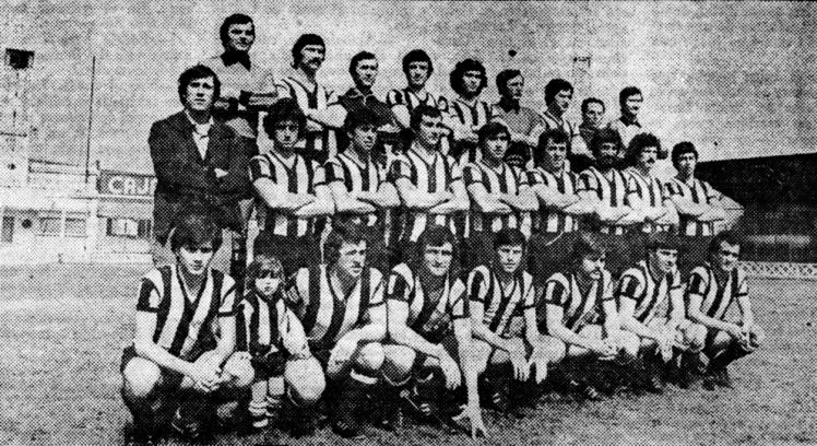 Plantilla Barakaldo 1977-79 Lasesarre