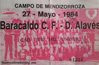 Alavés Barakaldo CF 1984
