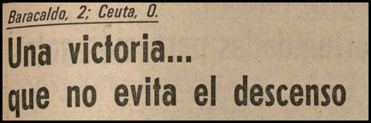 descenso 1981 historico barakaldo cf