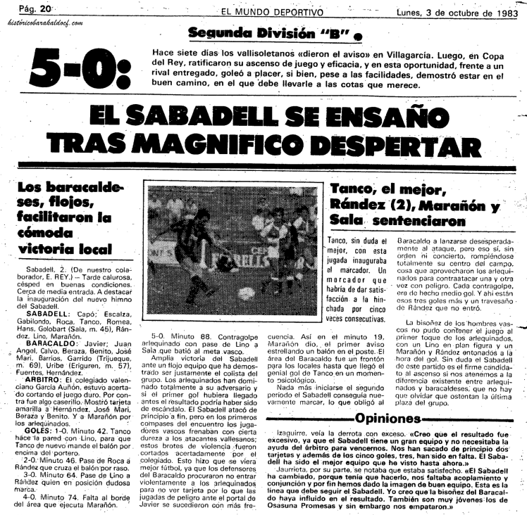 sabadel historico barakaldo CF