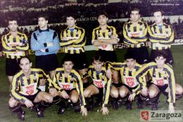La Romareda historico barakaldo 1990